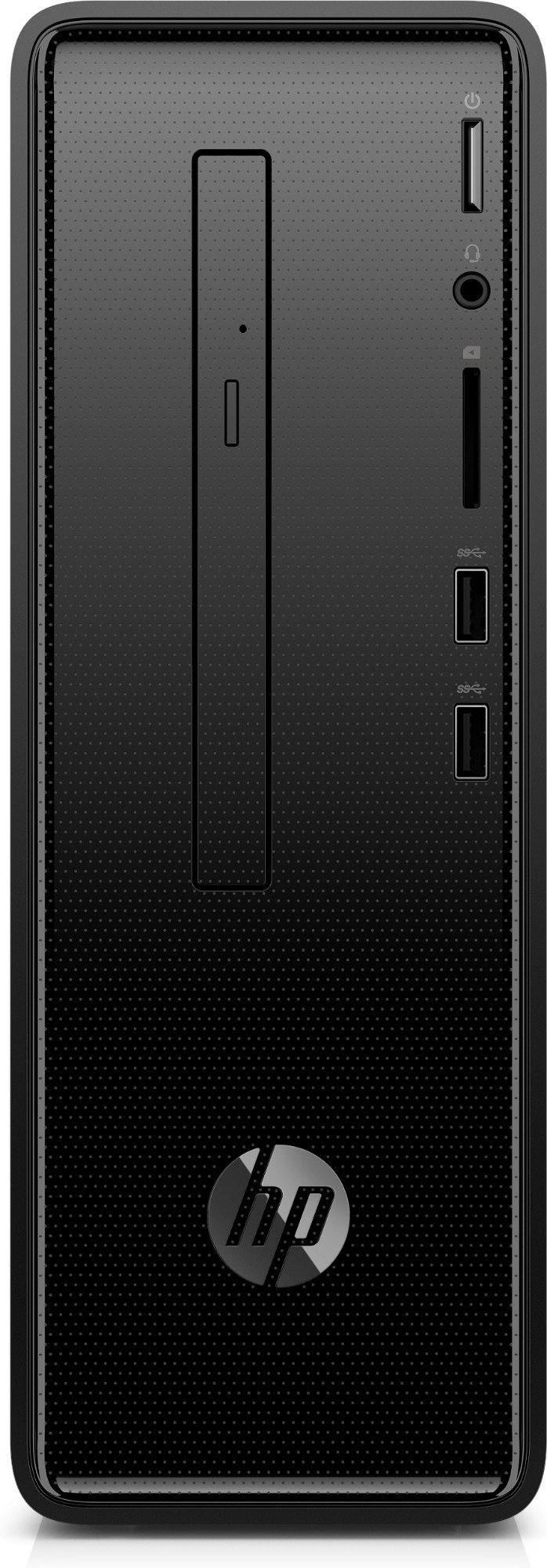 HP Slimline 290-a0007na 7th Generation AMD A6-Series APUs A6-9225 4 GB DDR4-SDRAM 1000 GB HDD Mini Tower Black PC Windows 10 Home