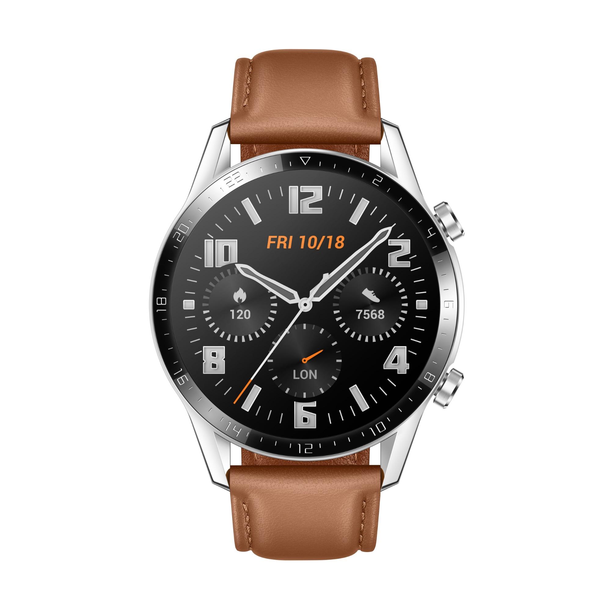Huawei WATCH GT 2 smartwatch Stainless steel AMOLED 3.53 cm 1.39