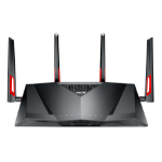 ASUS DSL-AC88U Dual-band (2.4 GHz / 5 GHz) Gigabit Ethernet Black wireless router