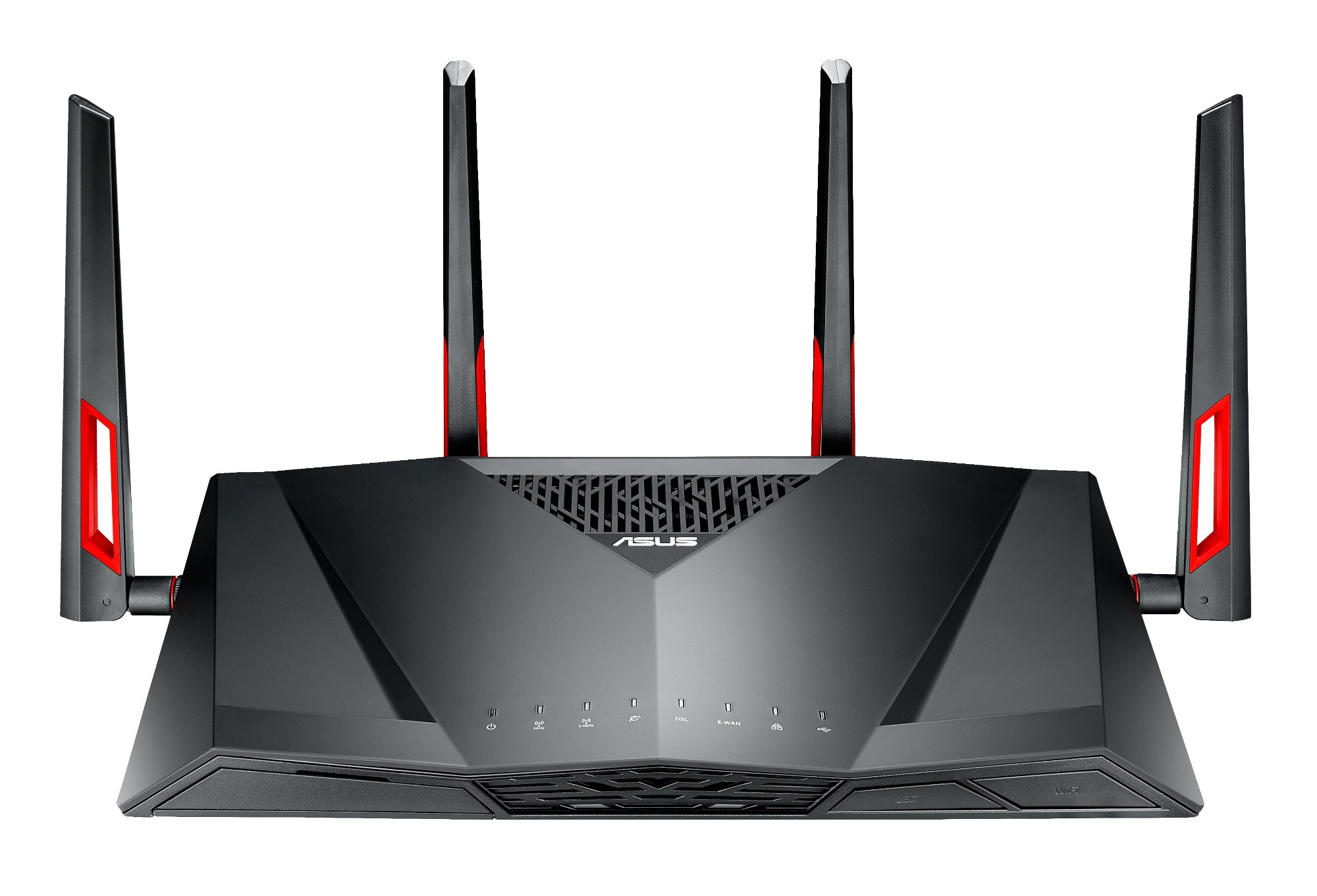 ASUS DSL-AC88U Dual-band (2.4 GHz / 5 GHz) Gigabit Ethernet Black wireless router