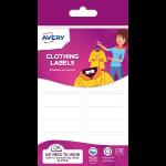 Avery ETVET36-UK self-adhesive label Rectangle Permanent White 36 pc(s)