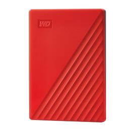 Western Digital My Passport external hard drive 4000 GB Red