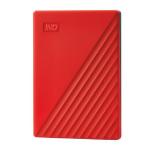 Western Digital My Passport Externe Festplatte 4000 GB Rot