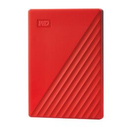 Western Digital My Passport externe harde schijf 4000 GB Rood