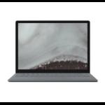 "Microsoft Surface Laptop 2 Platinum Notebook 34.3 cm (13.5"") 2256 x 1504 pixels Touchscreen 1.70 GHz 8th gen Intel® Core™ i5 i5-8350U"
