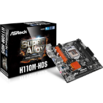 Asrock H110M-HDS Intel H110 LGA1151 Micro ATX motherboard
