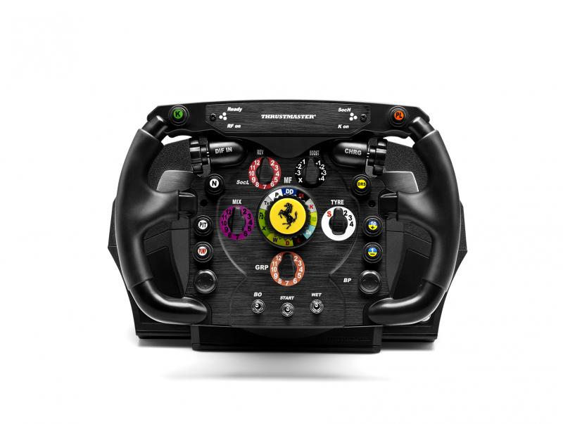 Thrustmaster Ferrari F1 Steering wheel PC,Playstation 3 Analogue RF Black