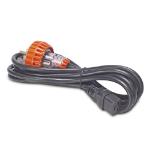 APC AP9897 power cable Black 3.66 m