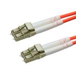 Cablenet 2m OM3 50/125 LC-LC Duplex Orange LSOH Fibre Patch Lead