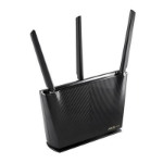 ASUS (RT-AX68U) AX2700 (1802+861Mbps) Wireless Dual Band Router MU-MIMO & OFDMA 802.11ax AiMesh Compatibl