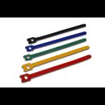 ASSMANN Electronic AK-770904-150-M Stof/Weefsel Multi kleuren 50stuk(s) kabelbinder
