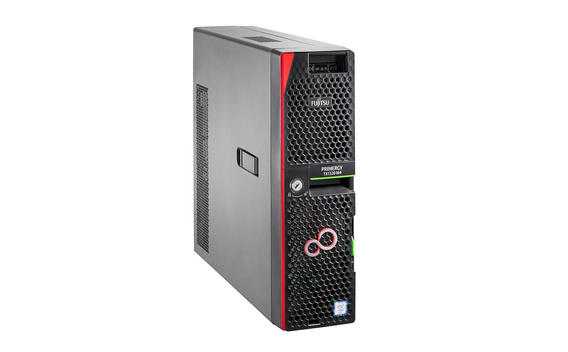 Fujitsu PRIMERGY TX1320M4 server 3.3 GHz 16 GB Tower Intel® Xeon® 450 W DDR4-SDRAM