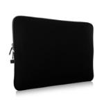 """V7 14"""" Water-resistant Neoprene Laptop Sleeve Case CSE14-BLK-3E"""