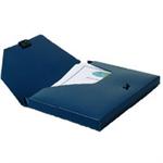 Snopake DocBox - Dark Blue, 25mm capacity Blue folder