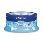 Verbatim CD-R 80MIN 700MB 52X Branded 30pk Spindle 30 pcs