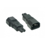 Hypertec 809066 power plug adapter C7 C14 Black