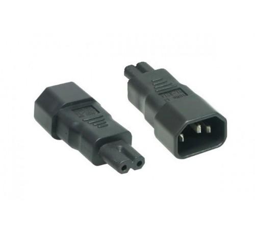 Hypertec 809066 power plug adapter C7 C14 Black