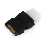 StarTech.com SATA to LP4 Power Cable AdapterZZZZZ], LP4SATAFM