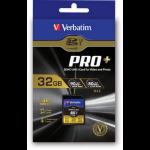 Verbatim SDHC 32GB 32GB SDHC UHS Class 10 memory card 49196