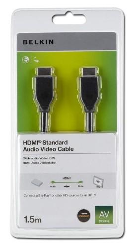Belkin HDMI 1.4 1.5m 1.5m HDMI HDMI Black HDMI cable