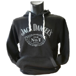 JACK DANIEL'S Men's Classic Old No. 7 Brand Logo Hoodie, Extra Extra Large, Black (HD030080JDS-2XL)