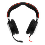 Jabra Evolve 80 UC Stereo Headset Hoofdband 3,5mm-connector Zwart