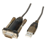 Lindy USB Serial Adapter Lite serial cable Grey 1.5 m USB Type-A RS-232