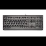 CHERRY KC 1068 keyboard USB AZERTY French Black