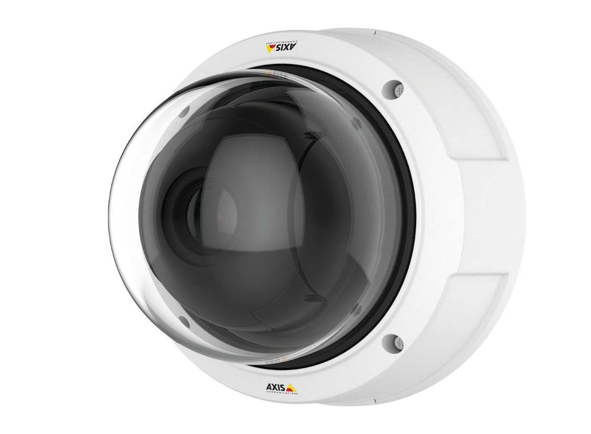 Axis Q3617-VE IP security camera Indoor & outdoor Dome White
