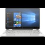 "HP Spectre x360 13-aw0053na Hybrid (2-in-1) Silver 33.8 cm (13.3"") 3840 x 2160 pixels Touchscreen 10th gen Intel® Core™ i7 16 GB LPDDR4-SDRAM 1000 GB SSD Wi-Fi 6 (802.11ax) Windows 10 Home"