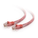 C2G Cat5e Snagless Patch Cable Pink 0.5m
