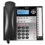 AT&T 1070 telephone Black Caller ID
