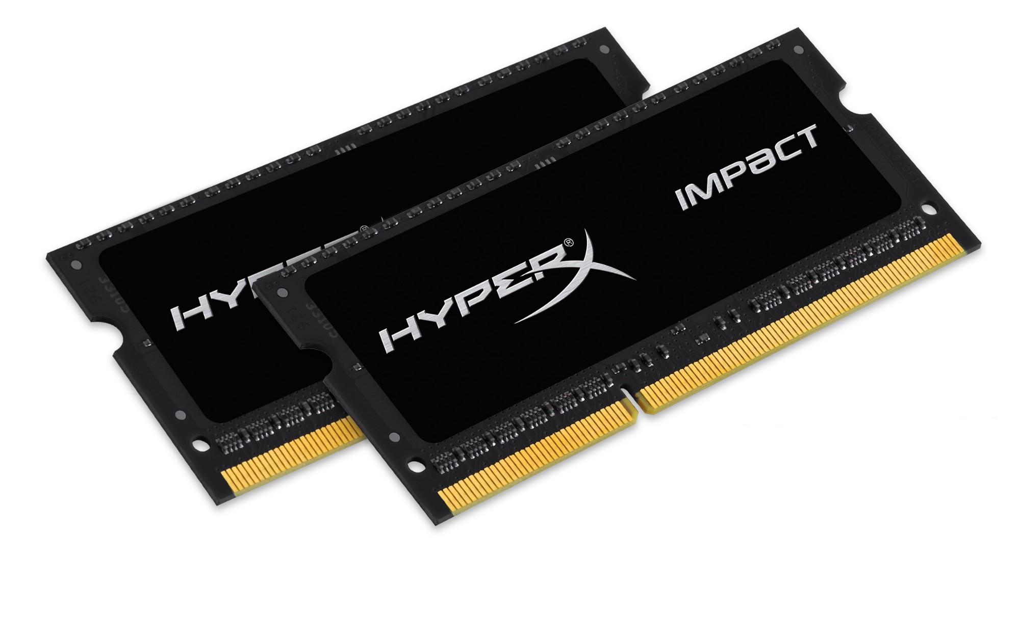 HyperX 16GB DDR3-1600 módulo de memoria 1600 MHz