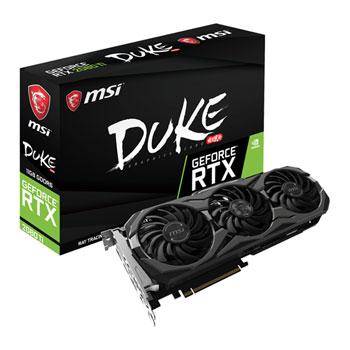 MSI GeForce RTX 2080 Ti DUKE OC 11GB GDDR6 VR Ready Graphics Card **PRE-ORDER**