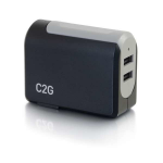 C2G 20276 Indoor Black, Grey mobile device charger