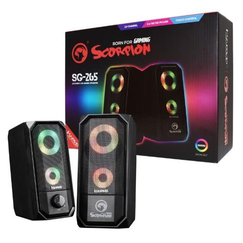 Marvo SG-265 loudspeaker 2-way Black Wired 6 W