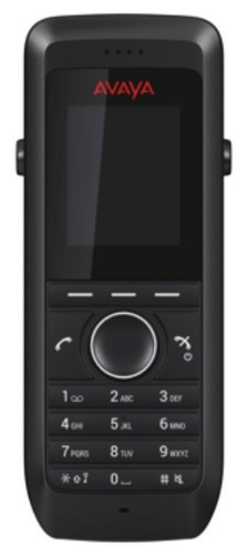 Avaya DECT 3730 DECT telephone handset Caller ID Black