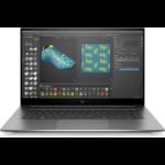 "HP ZBook Studio G7 Mobiel werkstation 39,6 cm (15.6"") 1920 x 1080 Pixels Intel® 10de generatie Core™ i7 32 GB DDR4-SDRAM 1000 GB SSD NVIDIA Quadro RTX 3000 Wi-Fi 6 (802.11ax) Windows 10 Pro for Workstations Zilver"