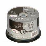 Intenso CD-R 700MB / 80min printable CD-R 700MB 50pc(s)