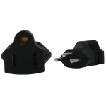 InLine US 3 Pin to Swiss 3 Pin Plug Adapter