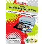 PHE GOLD SOVEREIGN ID LAMINATING POUCH 65 X 108 MM PACK 100