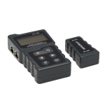 Tripp Lite Network and Power over Ethernet (PoE) Signal Tester with Carrying Case