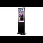 "Bauer BD43P81K signage display 108 cm (42.5"") LED Full HD Touchscreen Kiosk design Black,Silver"