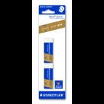Staedtler 52650BK2DA eraser Plastic Blue, White 2 pc(s)