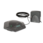 ClearOne MAX IP speakerphone Telephone Black