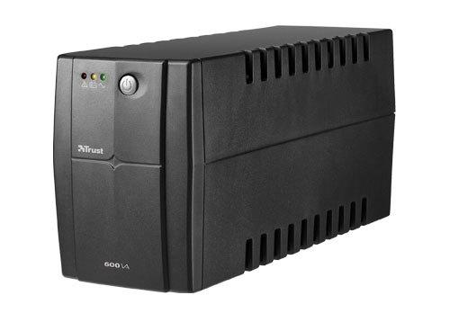 Trust 600VA sistema de alimentación ininterrumpida (UPS) 2 salidas AC