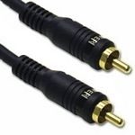 C2G 10m Velocity Bass Management Subwoofer Cable 10m RCA RCA Black audio cable