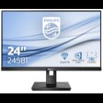 Philips B Line 245B1/00 LED display 60,5 cm (23.8 Zoll) 2560 x 1440 Pixel Quad HD Schwarz