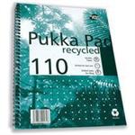 Pukka PUKKA QUALITY RECYCLED A4 PAD 80GSM 100P