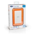 LaCie Rugged Mini external hard drive 2000 GB Orange, Silver